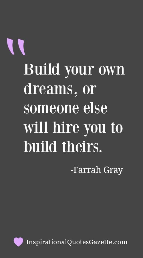Inspirational Quote About Dreams And Entrepreneurship Visit Us At Amazing Quotes About Us