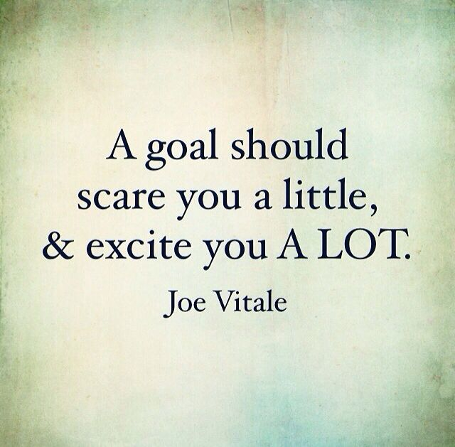 cf93b0b2947 Set your sights and goals high! Crush those expectations! - Josh Loe