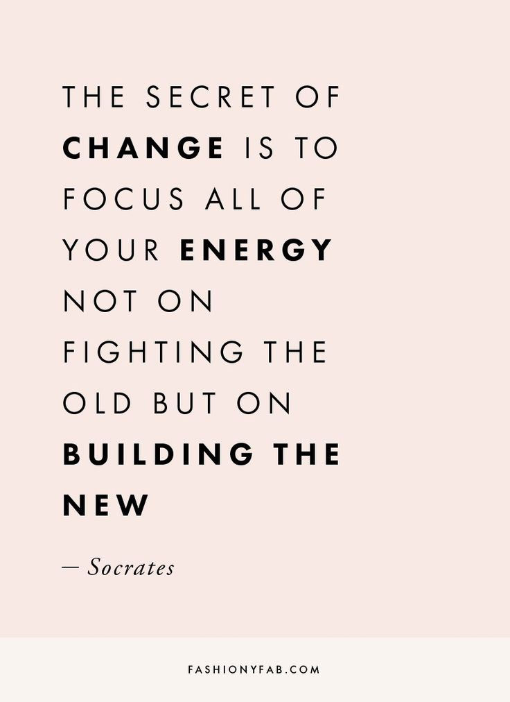 Change Quote | The Secret Of Change Quote Inspirational Quote Motivation