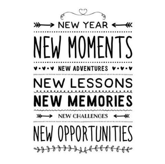 Latest new year quotes inspirational fresh start, new year ...