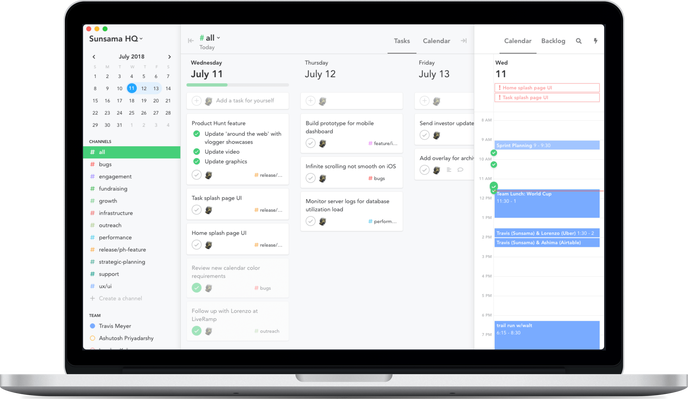 Sunsama's $10/month task management calendar cleans up your online productivity