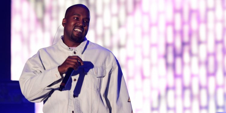 Kanye West hosted his famous 'Sunday Service' at Coachella on Easter