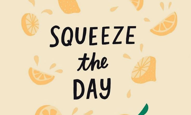 Squeeze The Day Lol Cute Quote Inspiration Quotes