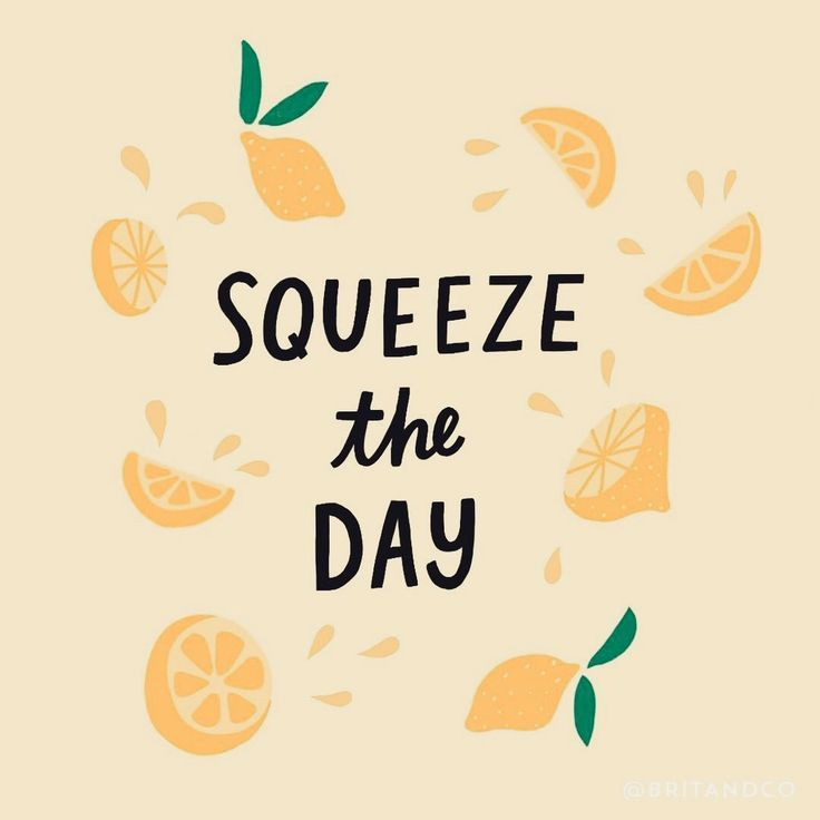 Squeeze the day lol. cute quote, inspiration #quotes ...