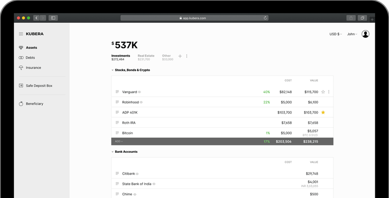 Newton Mail founder returns with launch of personal net worth tracker, Kubera